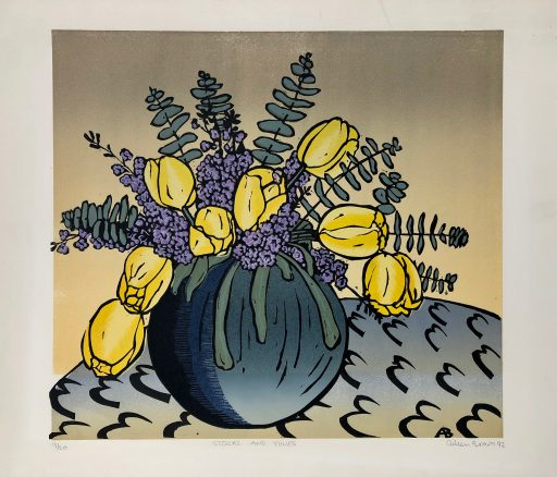 Aileen Brown Linocut Print