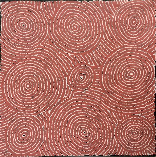 Tingari – Travelling across my country - Barney Campbell Tjakamarra